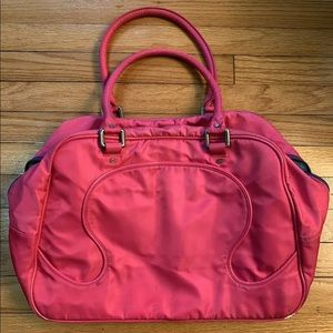 Lululemon duffle tote gym bag shopper